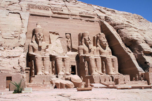 Great Temple, Abu Simbel, Egypt. Photo by Son of Groucho