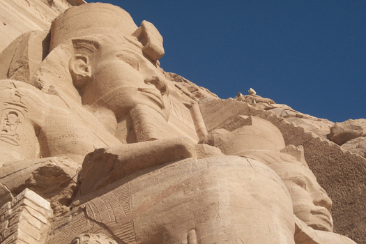 Great Temple, Abu Simbel, Egypt. Photo by Institute for the Study of the Ancient World