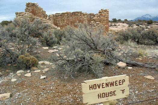 Hovenweep House, Hovenweep National Monument, Utah-Colorado, USA. Photo by teofilo