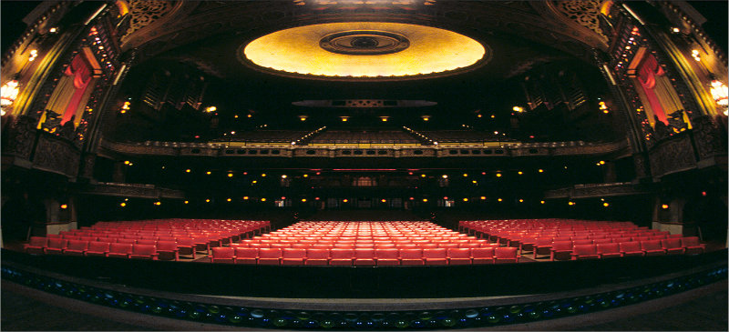 Top 10 Venues for Live Theatre by Bahman Farzad
