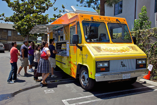 America's Top 10 Grilled Cheese Sandwiches: Grilled Cheese Truck © Kevin Stanchfield