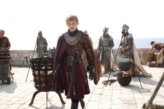 King Joffrey in King's Landing aka Dubrovnik's Fort Lovrijenac. Photo by BSkyB