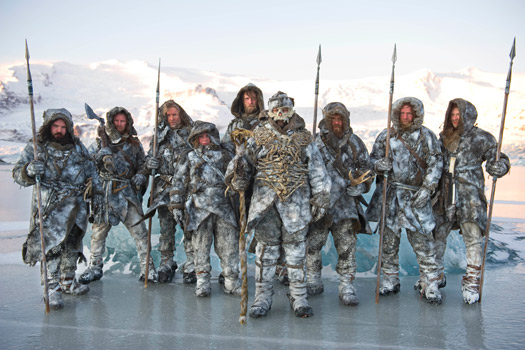 Wildlings (Free Folk) in Iceland. Photo by BSkyB