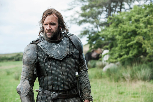 The Hound in Northern Ireland. Photo by BSkyB