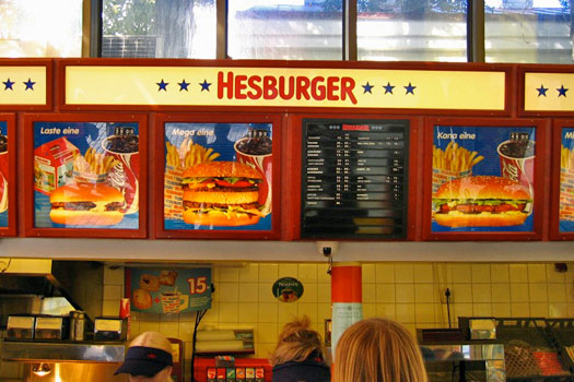 The Finnish McDonald's - The Hesburger. Photo by Jon Gos