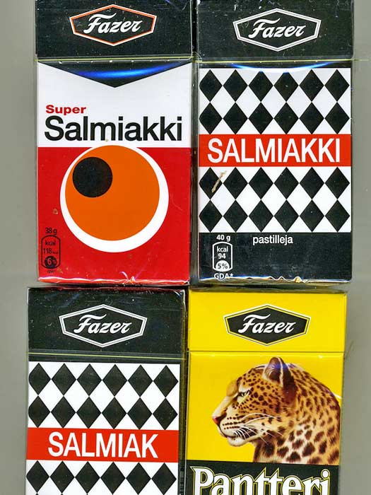 "Salmiakki not-so-sweet ""sweets"". Photo by Nesster"
