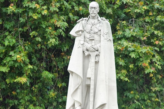 George V reigned from 1865 to 1936. He was a quarter German and half Danish. Photo by Elliott Brown