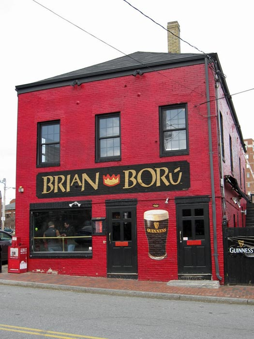 Like all monarchs, there are a lot of pubs named after Brian Boru. Photo by Bernt Rostad