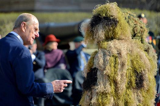 Prince Philip. Photo by Jamie McCaffrey