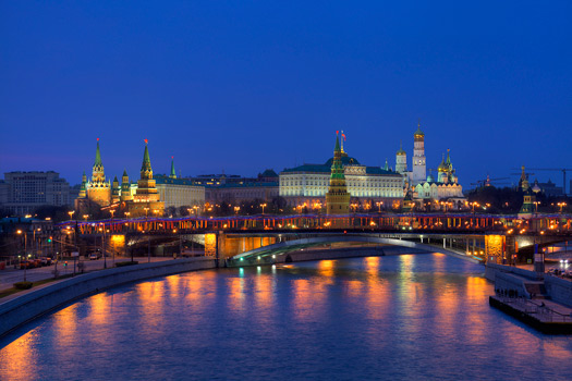 The Kremlin used to be home to the Russian royal family, before it became property of the state during the 1917 revolutions. Photo by Pavel Kazachkov