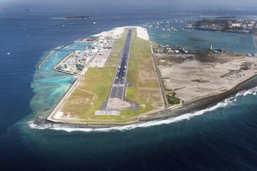 Ibrahim Nasir International Airport © KlemenR/iStock/Thinkstock (http://www.thinkstockphotos.co.uk/image/stock-photo-airport-of-city-male-in-maldives-region/460491831)