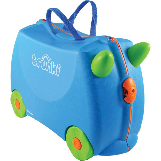 travel toys Trunki luggage suitcase
