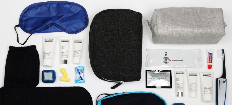 What do you get in Icelandair's amenity kits? 5