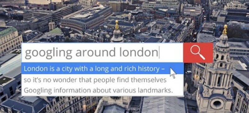 Googling Around London