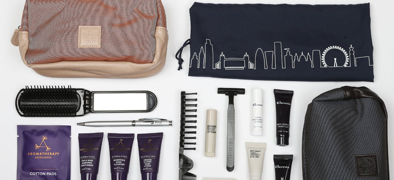What do you get in a British Airways amenity kit? 1