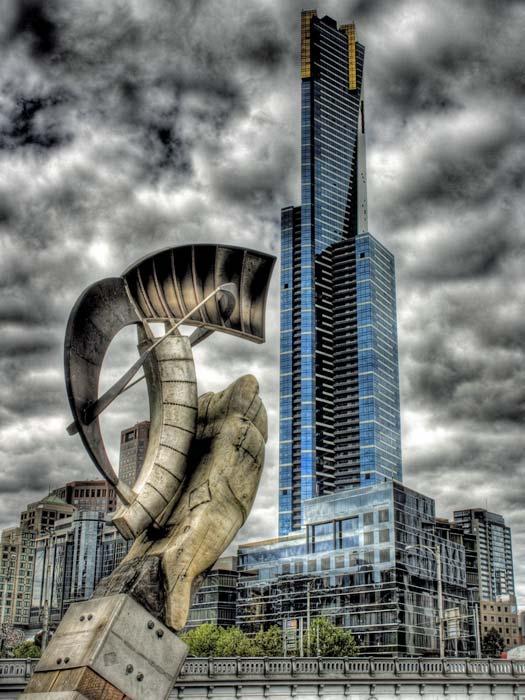 We're no.2! Eureka Tower. Photo by Adam Selwood