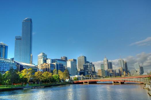 Sunny Melbourne. Photo by Steve Davidson