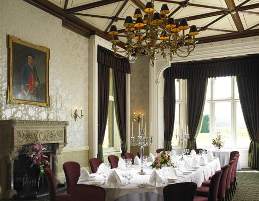 Walton Hall restaurant. Stratford-upon-Avon, Warwickshire