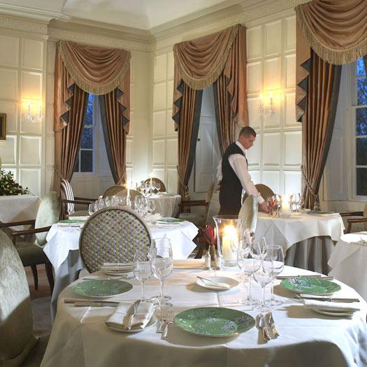 The restaurant at Ston Easton Park: Ston Easton, Somerset