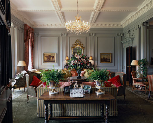 The Drawing Room at Stapleford Park: Melton Mowbray, Leicestershire