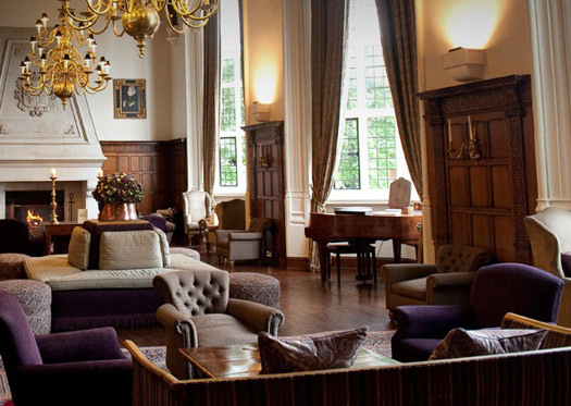 The Grand Hall at Danesfield House Hotel & Spa: Marlow-On-Thames, Buckinghamshire