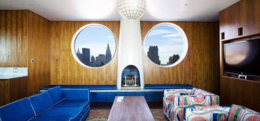 The Maritime Hotel, New York, USA. Photo courtesy of The Maritime Hotel