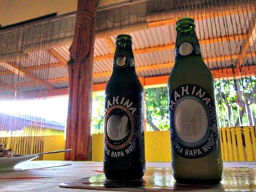 Easter Island beer, Mahina. Photo by travelwayoflife