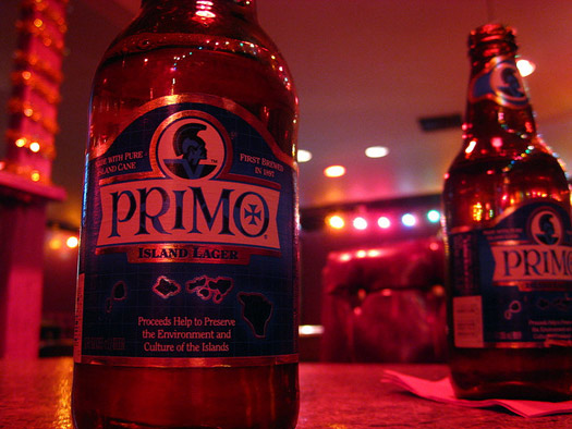 Primo Brewing, Hawaii. Photo by Mike Souza