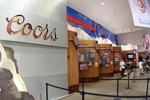 Coors Brewery Tour @ Golden, Colorado. Photo: David Fulmer