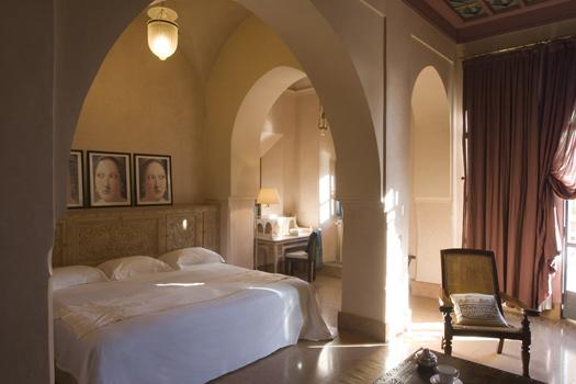 Hotel Les Deux Tours, Palmeraie, Marrakech, Morocco.