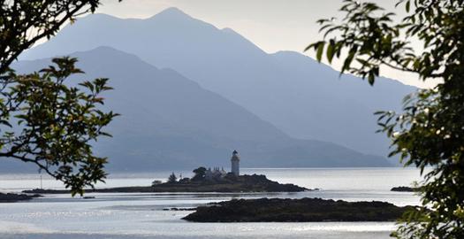 Ornsay on the Isle of Skye Scotland.