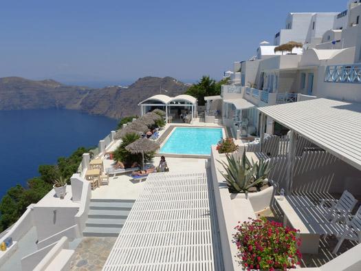 Andromeda Villas, Santorini, Greece.