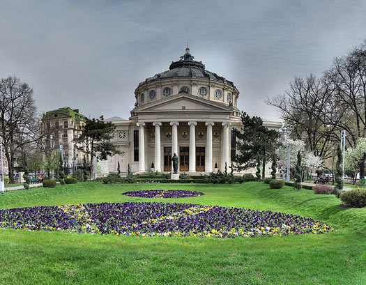 The Romanian Athenaeum, the city's famous concert hall. Photo: Panoramas