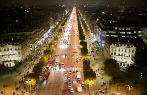 Champs-Elysées, Paris, France (Image: Wayne Shipley)