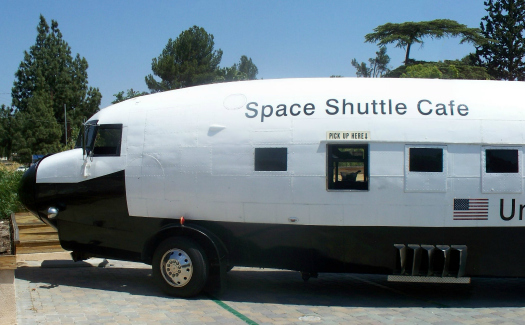 The Space Shuttle Cafe