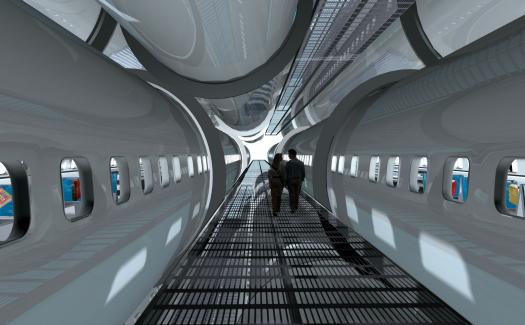 A plane-turned-library (Image: http://www.lot-ek.com/)