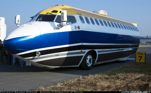 The Jet Limo (Image: Airliners.net)