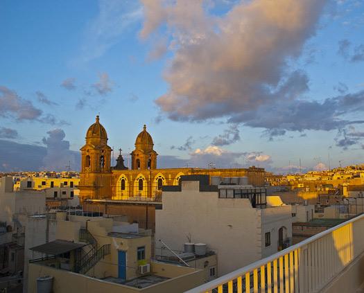 Sliema sunrise, Malta. Photo: Berit Watkin