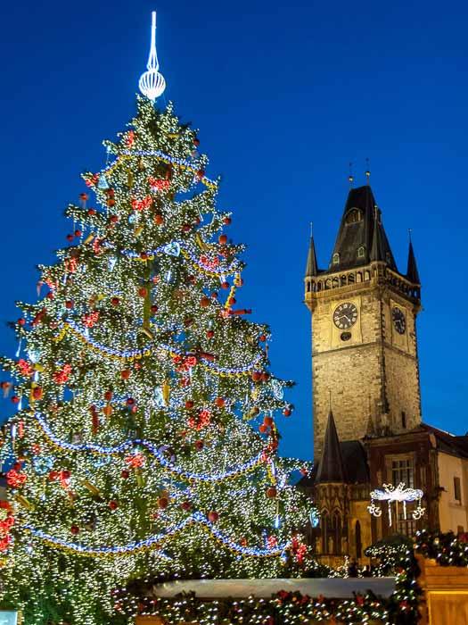 Christmas in Prague. Photo by Huangjiahui