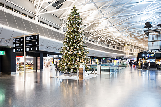 Festive Flying The Best Decorated Airports This Christmas