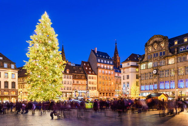 Strasbourg at Christmas time