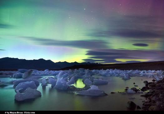 Aurora Borealis. Photo by Moyan Brenn