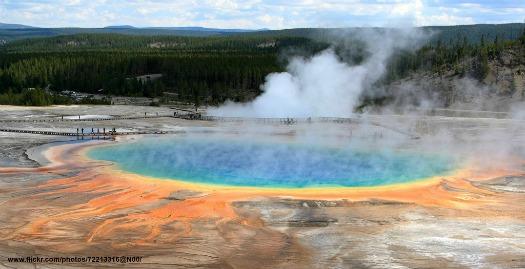 Yellowstone National Park. Photo by Frank Kovalchek