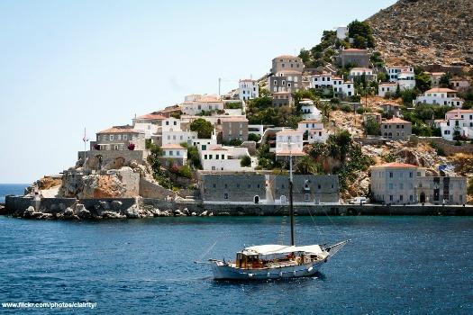 Hydra, Greek islands. Photo by Sharon Mollerus