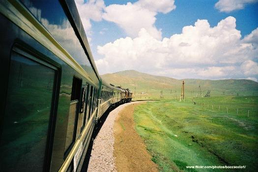Trans-Siberian rail. Photo by Boccaccio1