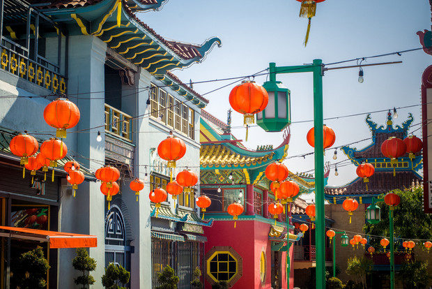 Take a stroll through Chinatown