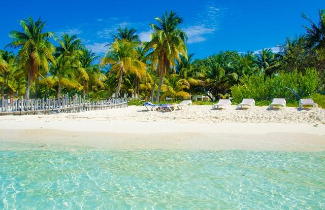 Beach at Isla Mujeres
