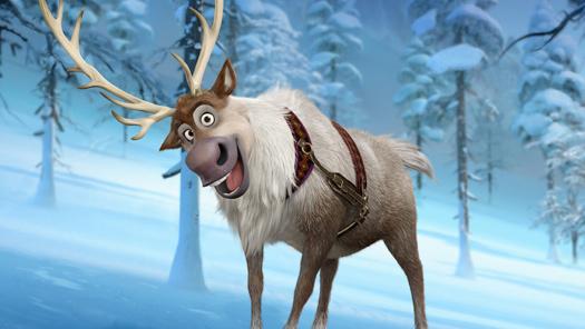 Sven, reindeer in Frozen