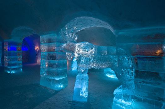 Sorrisniva Igloo Hotel Norway Frozen