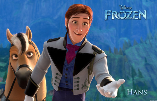 Prince Hans and his Fjord Horse, Frozen